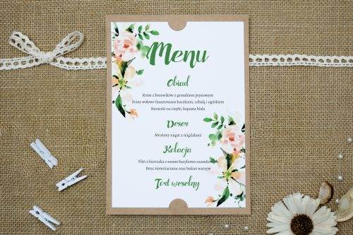 biała magnolia menu