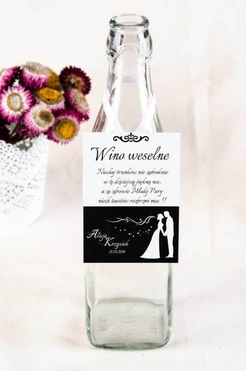 zawieszka ślubna na alkohol