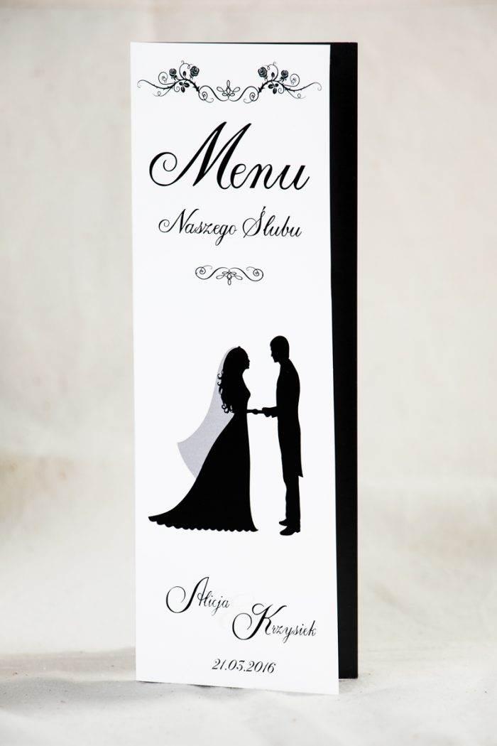 menu-weselne-blackwhite-wzor-1-papier-satynowany