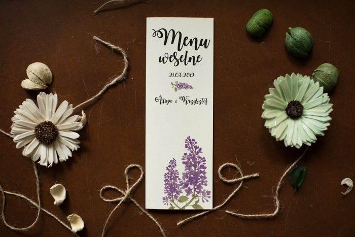 menu-weselne-pasujace-do-zaproszenia-kwiaty-bzy-papier-satynowany