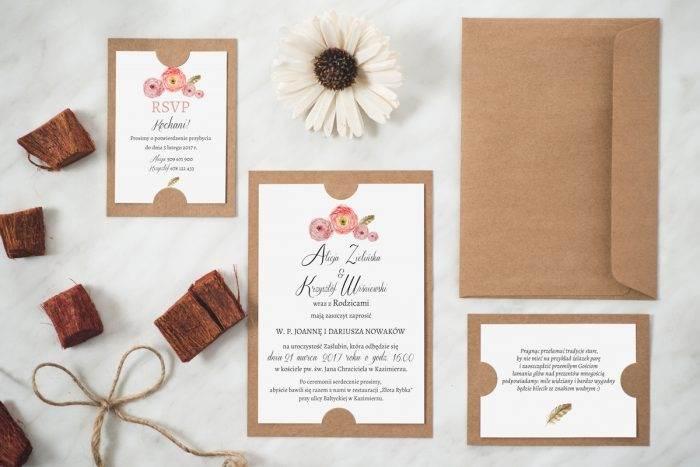 zaproszenie-slubne-boho-wzor-12-podkladki-szara-papier-matowy-350g