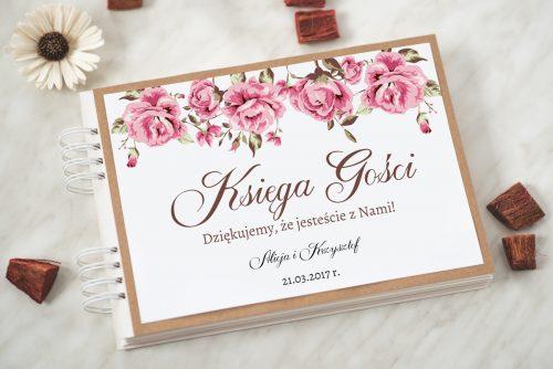 księga gości ślubnych boho wzór 4