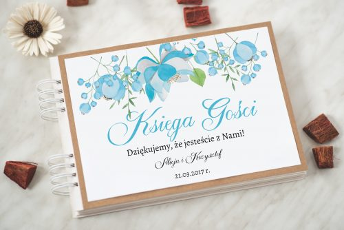 księga gości ślubnych boho wzór 7
