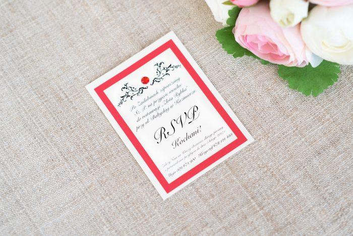 dodatkowa-karteczka-do-zaproszen-eleganckie-z-brylancikiem-czerwone-brylanciki-srebrny-papier-satynowany