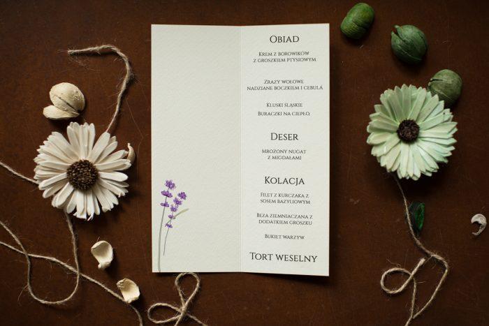 lawenda menu