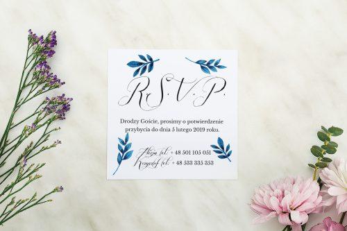 Dodatkowa karteczka Wianuszki - Delikatne kwiatuszki wzór B
