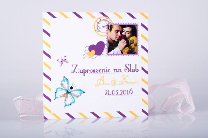 zaproszenie-slubne-kartka-pocztowa-wzor-3-papier-matowy-koperta-bez-koperty