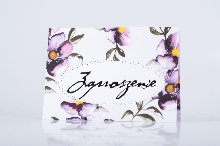 zaproszenie-slubne-kwiaty-fioletowe-papier-matowy-350g