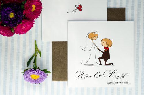 zaproszenie ślubne lolki oswiadczyny