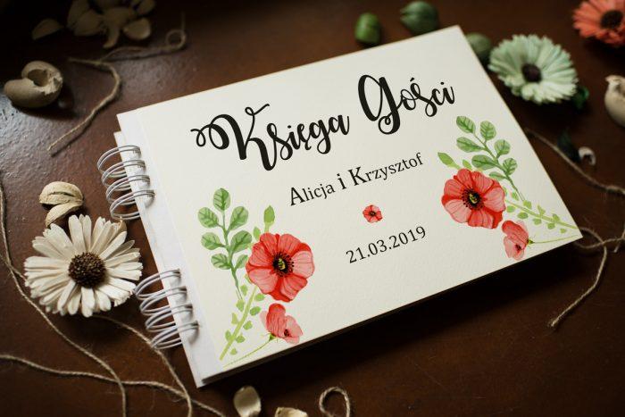 ksiega-gosci-slubnych-kwiaty-maki-papier-satynowany-dodatki-ksiega-gosci