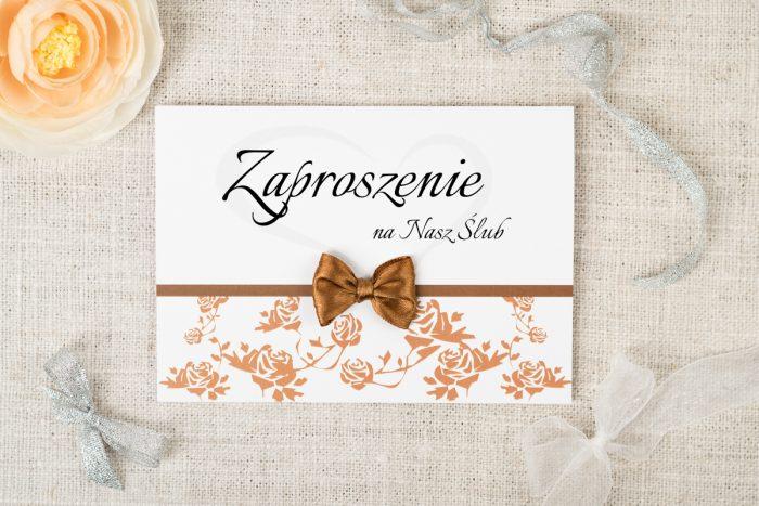zaproszenie-slubne-ornament-z-kokardka-wzor-9-papier-satynowany-kokardki-male-chabrowa