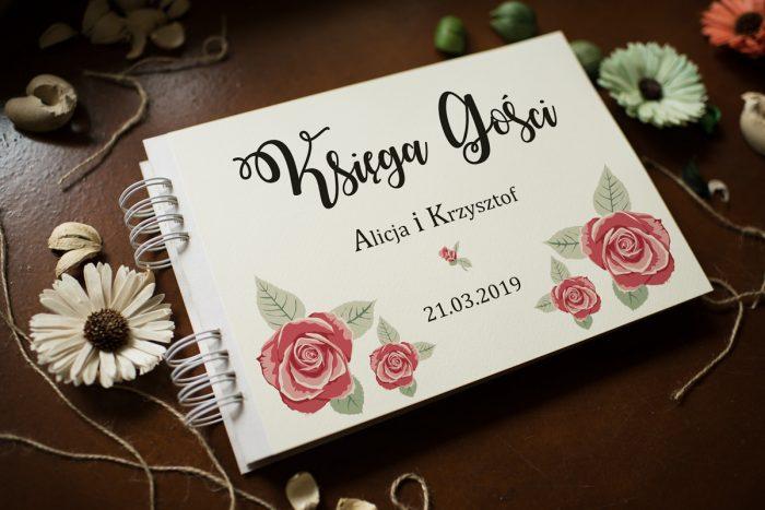 ksiega-gosci-slubnych-kwiaty-rozyczki-papier-satynowany-dodatki-ksiega-gosci