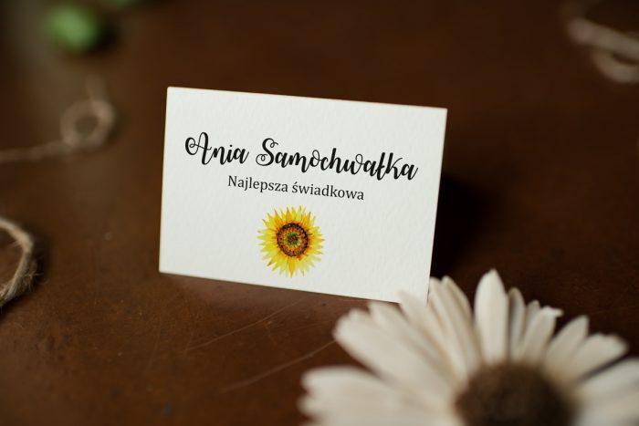 winietka-slubna-do-zaproszenia-kwiaty-sloneczniki-papier-satynowany