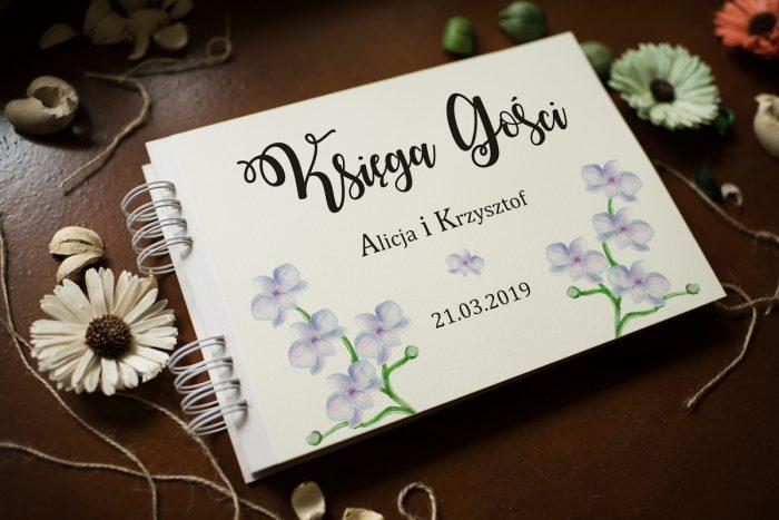 ksiega-gosci-slubnych-kwiaty-storczyki-papier-satynowany-dodatki-ksiega-gosci