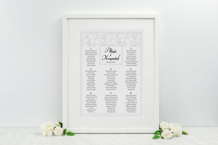 plan-stolow-weselnych-do-klasyczne-fotozaproszenie-brazowe-dodatki-ramka-papier-matowy