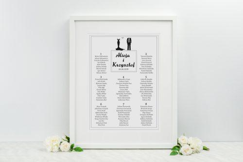 tablica planu stolików