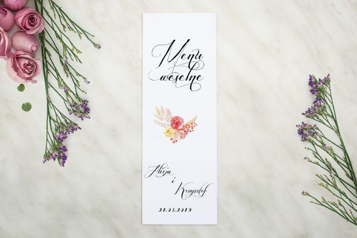 menu-weselne-pasujace-do-zaproszenia-wianuszki-akwarelowe-roze-papier-matowy