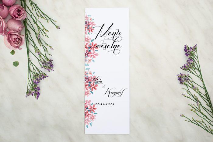 menu-weselne-pasujace-do-zaproszenia-wianuszki-delikatne-kwiatuszki-papier-matowy