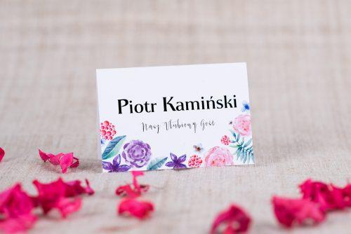 winietka do zaproszenia zaproszenia Fioletowo-różowego