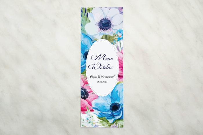 kwiaty-polne-menu-papier-matowy