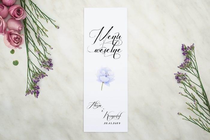 menu-weselne-pasujace-do-zaproszenia-wianki-z-kokarda-blekitne-krokusy-papier-matowy