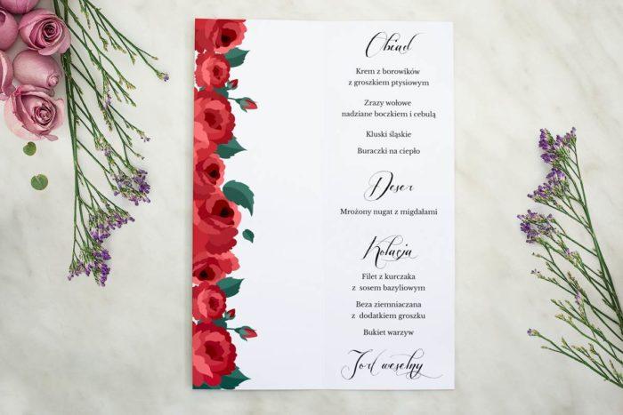 Wianki z kokardą - Bordowe róże - MENU T.jpg