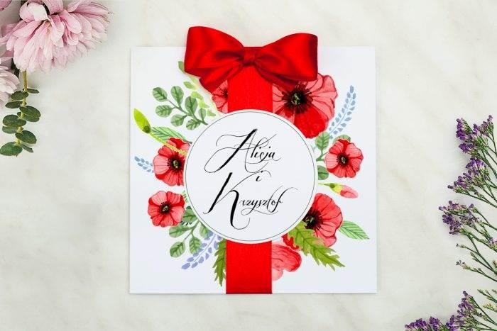 zaproszenie-slubne-wianki-z-kokarda-czerwone-maki-papier-matowy-kokarda-na-kleju--koperta-k4-szara