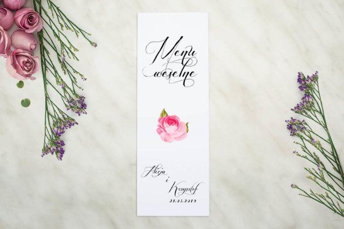 menu-weselne-pasujace-do-zaproszenia-wianki-z-kokarda-fuksjowe-petunie-papier-matowy