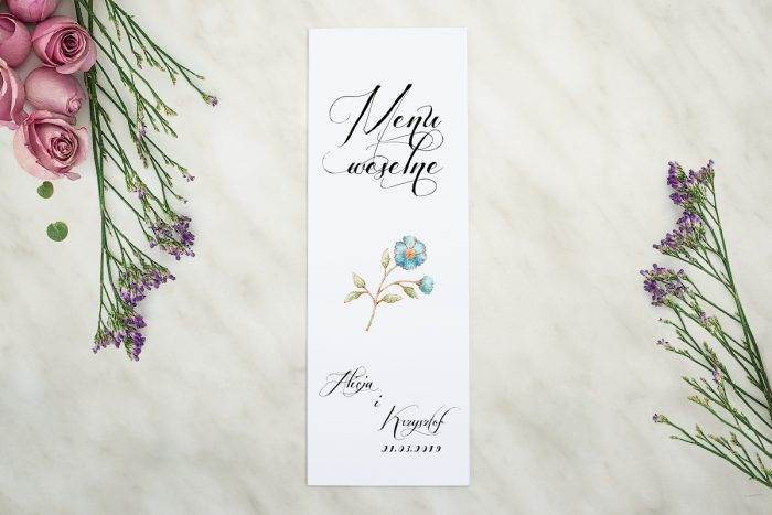 menu-weselne-pasujace-do-zaproszenia-wianki-z-kokarda-kwiaty-lnu-papier-matowy