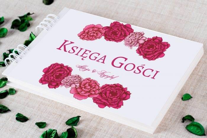 ksiega-gosci-slubnych-kwadratowa-kartka-piwonie-papier-satynowany-dodatki-ksiega-gosci