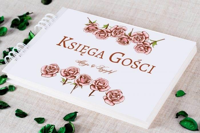 ksiega-gosci-slubnych-kwadratowa-kartka-rozyczki-papier-satynowany-dodatki-ksiega-gosci
