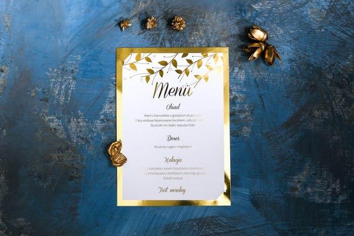 menu-weselne-zlote-lustro-delikatne-liscie-papier-matowy-podkladki--foliowanie-