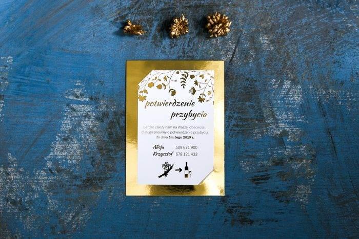 rsvp-do-zaproszen-zlote-lustro-kwiaty-i-paprocie-papier-matowy-podkladki--foliowanie-