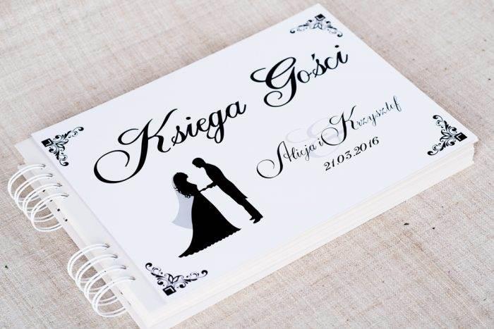 ksiega-gosci-slubnych-blackwhite-wzor-1-papier-matowy-dodatki-ksiega-gosci