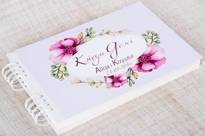 ksiega-gosci-slubnych-kwiaty-piwonie-papier-matowy-dodatki-ksiega-gosci