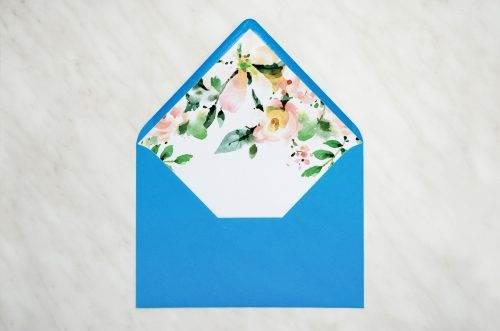 koperta z wklejką