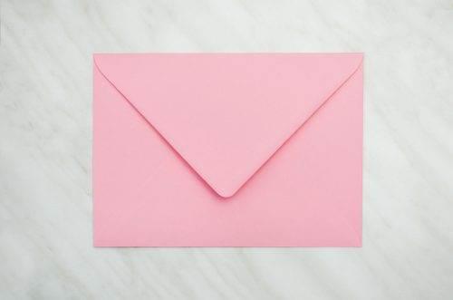 różowa koperta b6