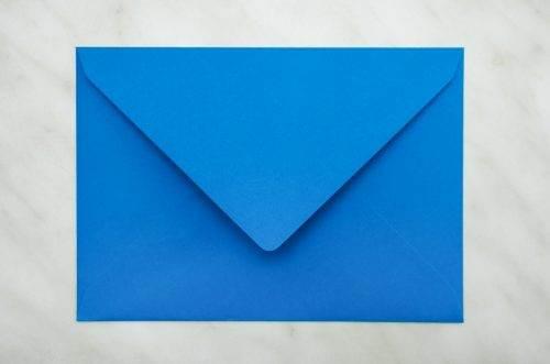 koperta C6 R niebieska