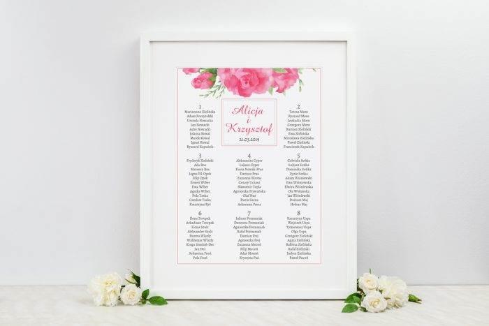 plan-stolow-weselnych-do-zaproszenia-kwiaty-z-nawami-akwarelowe-roze-dodatki-ramka-papier-satynowany