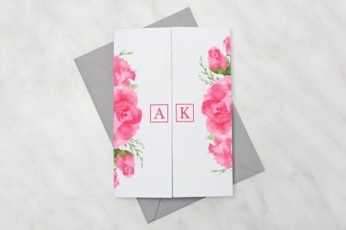 Akwarelowe-róże---Zaproszenie-z-kopertą
