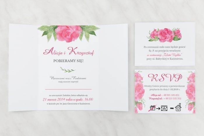 Akwarelowe-róże---zaproszenie-z-dwoma-karteczkami