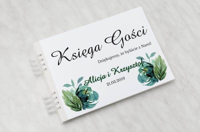 ksiega-gosci-slubnych-kwiaty-z-nawami-blekitne-roze-papier-satynowany-dodatki-ksiega-gosci