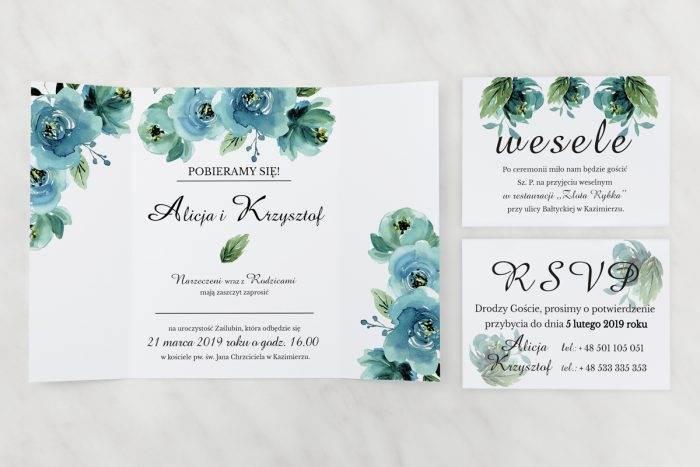 Błękitne-róże---zaproszenie-z-dwoma-karteczkami
