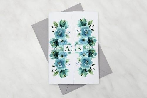 Błękitne-róże---zaproszenie-z-kopertą
