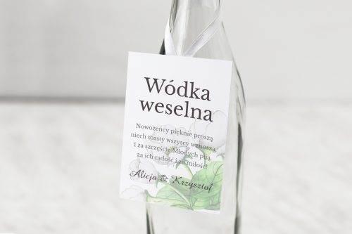 zawieszka weselna białe anemony
