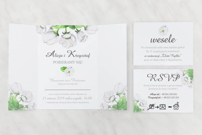 Białe-anemony---zaproszenie-z-dwoma-karteczkami
