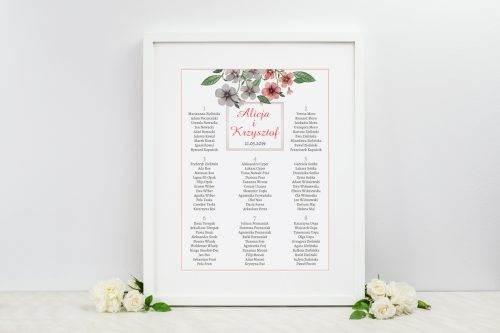 bratkowe tablica weselna