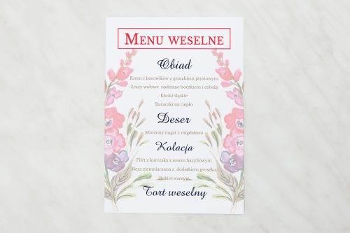 menu weselne bukiet jesieni
