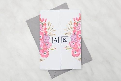 Bukiet-jesieni---zaproszenie-z-kopertą