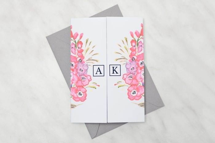 zaproszenie-slubne-kwiaty-z-nawami-bukiet-jesieni-papier-satynowany